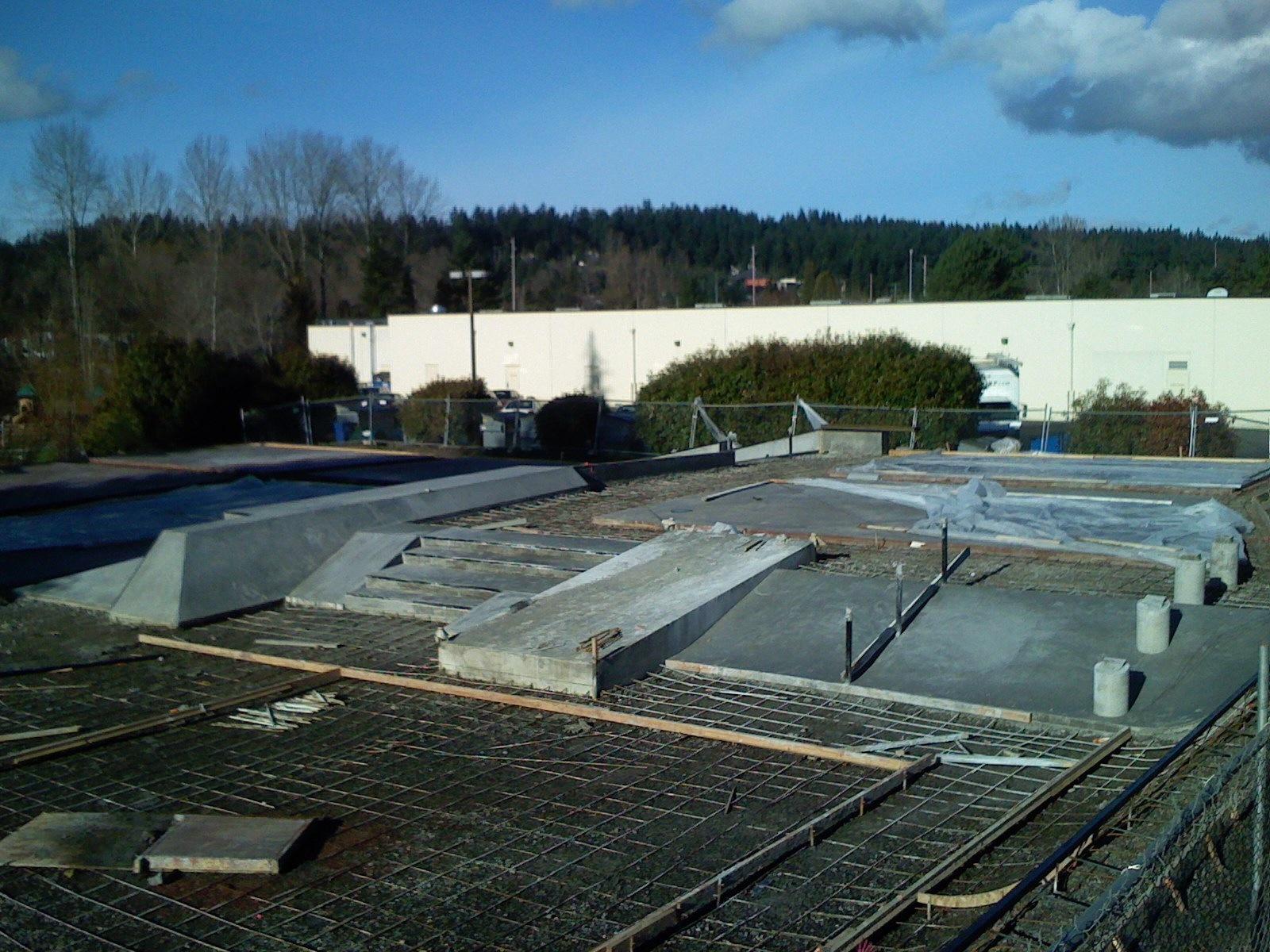 Bellevue Highland Skateplaza wide