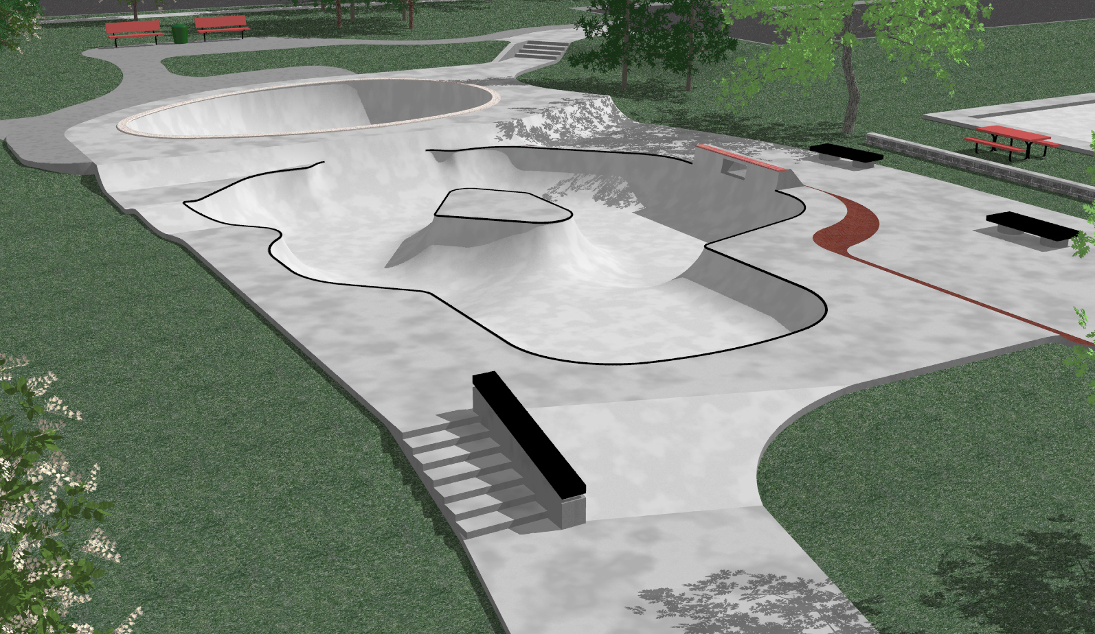 Displaying 19> Images For - Small Skatepark Designs...